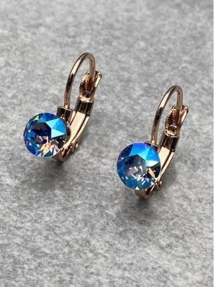 Auskarai SAPPHIRE BLUE
