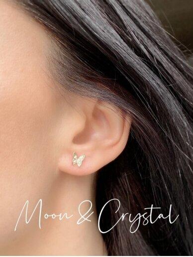 Earrings STUNNING BUTTERFLIES